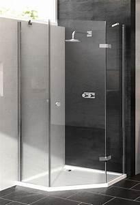 Hüppe Dusche Ersatzteile : h ppe 5 eck dusche enjoy schwingt r 1 fl gelig rechts ~ Frokenaadalensverden.com Haus und Dekorationen