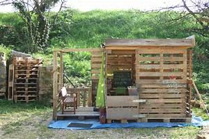cabane en bois en palette With materiaux exterieur de maison 10 maison en bois les cabanes dolivier cabane en bois