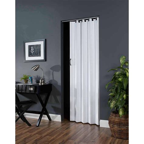 collapsible closet doors deco 36 quot x 80 quot folding door white walmart