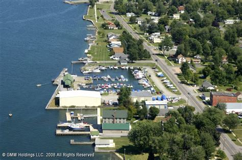 Anchor Marina In Cape Vincent, New York, United States