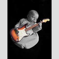 Lalit Cute Baby With Guitar