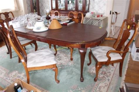6 broyhill dining room chairs
