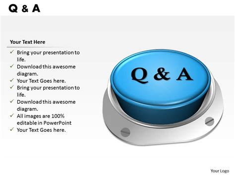 questions  answers design powerpoint