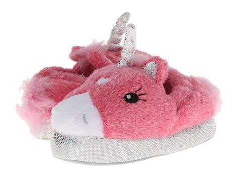 stride rite light up unicorn slippers stride rite lighted unicorn slipper infant youth