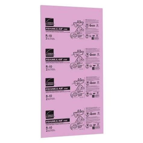 owens corning foamular      ft   ft