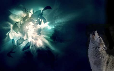Abstract Wolf Wallpaper by Abstract Howling Wolf Abstract Wolf Hd Wallpaper 3d And