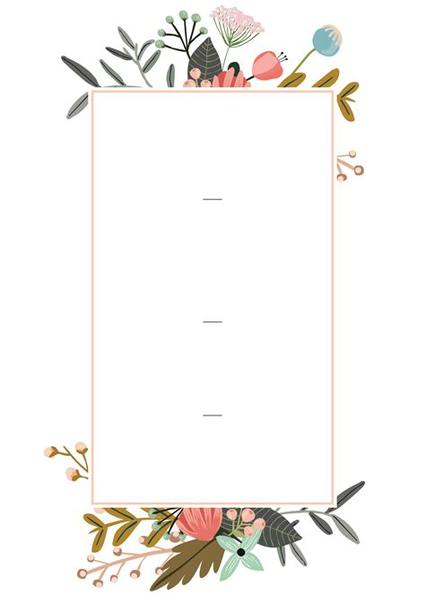 editable wedding invitation templates   perfect card