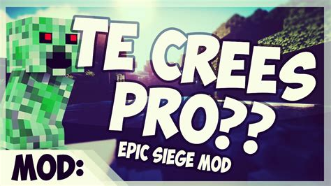 siege promod epic siege mod eres un pro en minecraft 1 7 10 minecraft
