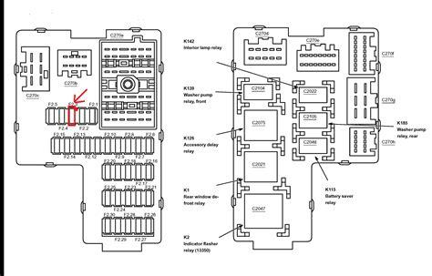 ford explorer fuse diagram detailed schematics diagram