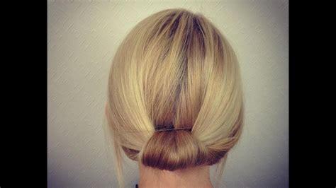 easy bridal work updo  short  medium hair youtube