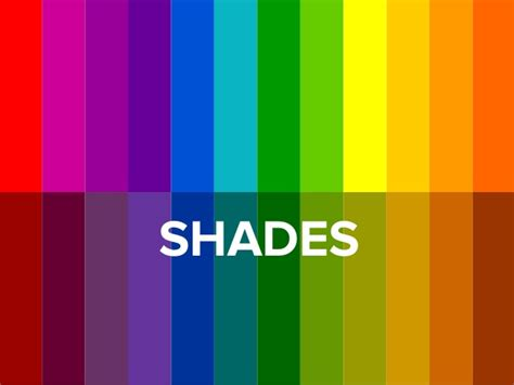 Color Shades Of by The Basics Of The Color Wheel For Presentation Design