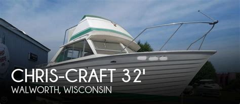 Chris Craft Boats Wisconsin by Chris Craft Sea Skiff 32 Sports Cruiser Boat For Sale In