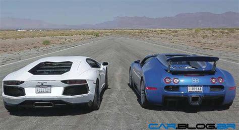 Aventador Vs Bugatti Veyron