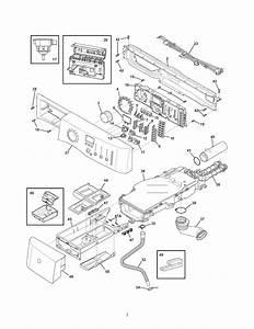 Electrolux Model Eifls55iiw0 Residential Washers Genuine Parts
