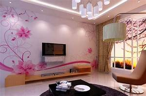 Best Wallpaper Designs For Living Room Modern With Best ...