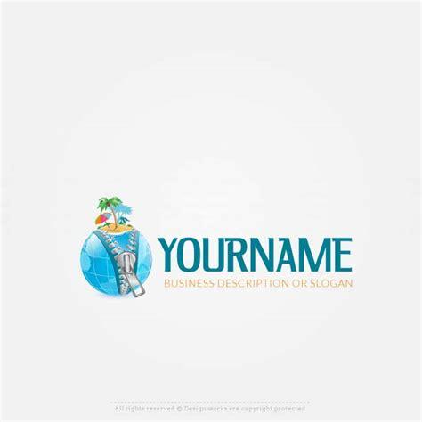 logo maker travel logo design