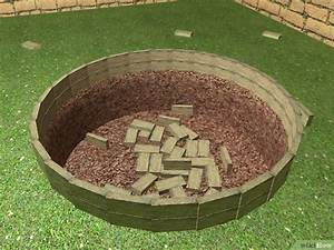 Feuerfeste Steine Für Grill : eine feuerstelle im garten bauen wikihow ~ Markanthonyermac.com Haus und Dekorationen