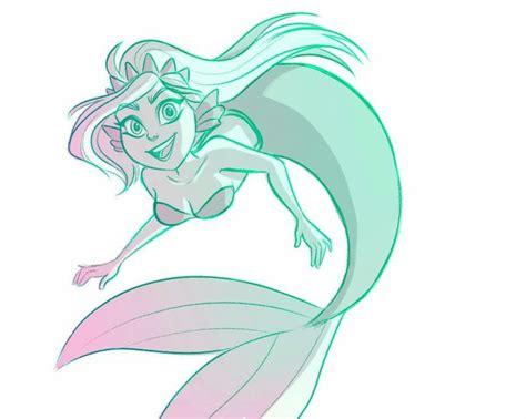 pin  grace   sketches  drawings   mermaid