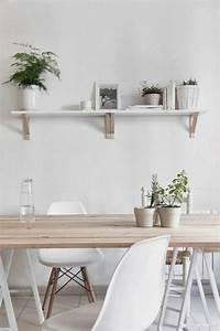 quelle deco salle a manger choisir idees en 64 photos With meuble salle À manger avec chaises blanches bois