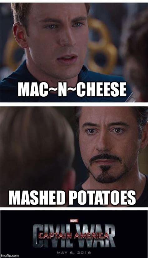 Mashed Potatoes Meme - marvel civil war 1 meme imgflip