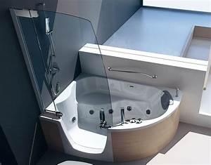 Sitzwanne Mit Dusche : badewanne mit dusche und einstieg ~ Michelbontemps.com Haus und Dekorationen