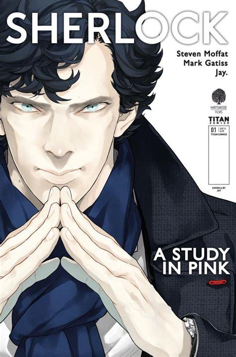 sherlock comic pink study manga jay preview comics into