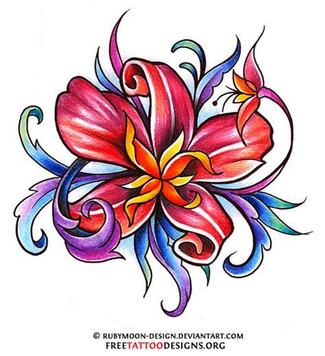 Feminine Tattoo Designs Lower Back flower tattoo gallery  flower designs 504 x 552 · jpeg