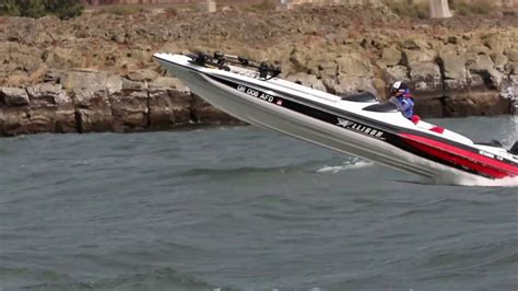 Bass Boat In Rough Water by Allison Bassport In Rough Water Video Youtube