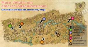 Deshaan Survey Report Map Elder Scrolls Online Guides