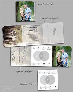 498 best images about wedding on pinterest brooch With tri fold wedding invitations with tear off rsvp template