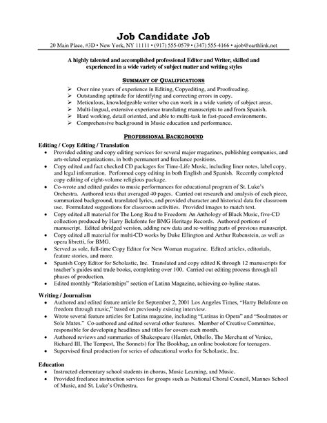 Edit Resume Free by Free Resume Editor Resume Ideas