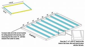 Build A Shed Floor With Pressure