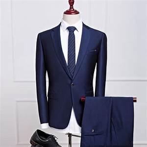 Costume Homme 2017 : buy 2pcs suit men costume homme mariage 2017 korean slim fit mens suits with ~ Preciouscoupons.com Idées de Décoration