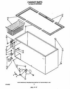 Thermostat  Basket  Breaker Strip Diagram  U0026 Parts List For Model Eh150fxwn00 Whirlpool