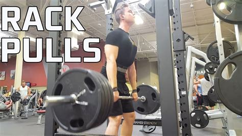 How To Do Rack Pulls (the Right Way!) Youtube