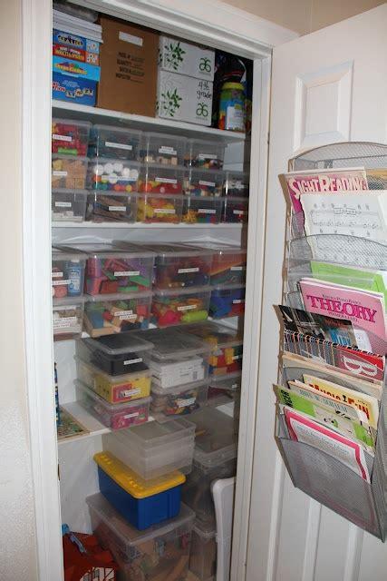 Homeschool Closet Organization Ideas by How To Organize Classroom Or Homeschool Materials