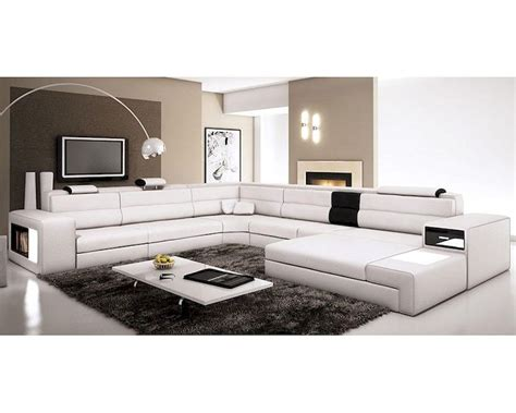 Contemporary Leather Sectional Sofas by Contemporary Leather Sectional Sofa 44l5963