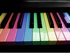 Rainbow Piano Keys Wallpaper By Jlee182 Colorful
