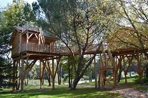 Constructeur Cabane Dans Les Arbres : domaine ec telia cabanes de france ~ Dallasstarsshop.com Idées de Décoration
