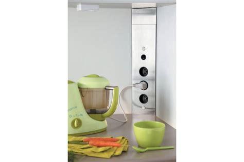 bloc prises d angle cr 233 dence avec interrupteur accessoires de cuisines