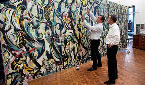 jackson pollock the mural modern paints