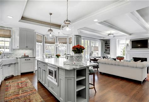 kitchen and family room ideas family home design ideas home bunch interior design ideas