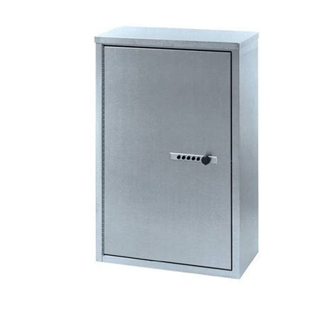 Double Door Narcotics Cabinet With Push Button Lock