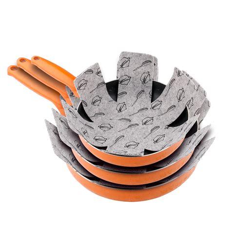 pan pot felt protectors pads non protector cookware pans woven eco friendly protection description avoid larger