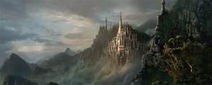 Escarpment, Fantasy Castle, Castle, Atmosphere, Fantasy HD