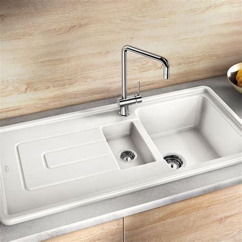 blanco kitchen sink blanco tolon 6 s ceramic inset kitchen sink sinks taps 1711