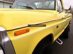 1976 Ford F150 Ranger 4x4 Xlt Longbed 1977 1975 1978 1974