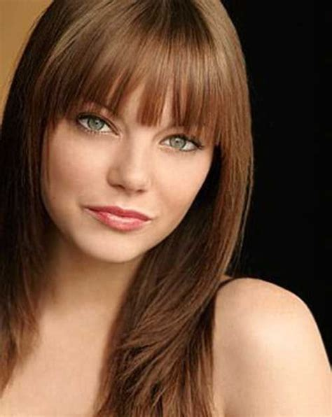 haircuts for brown hair 1000 images about bangs on fringes glasses 4072