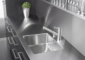 Plan Travail Inox Prix : un plan de travail en inox pour une cuisine factory des ~ Edinachiropracticcenter.com Idées de Décoration
