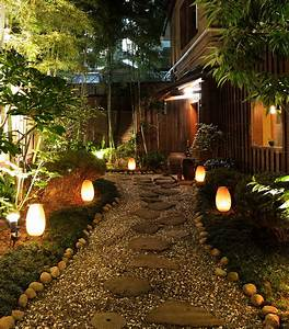 Illuminating your path using landscape lighting to define